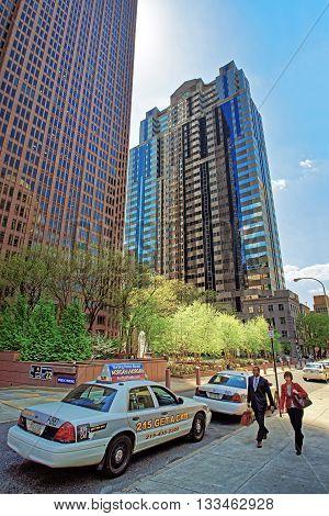 Businessmen At Penn Center In Philadelphia