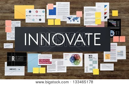 Innovate Innovation Assessment Business Plan Concept