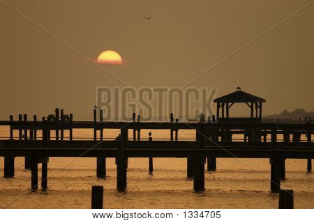North Carolina Outer Banks Fishing Pier