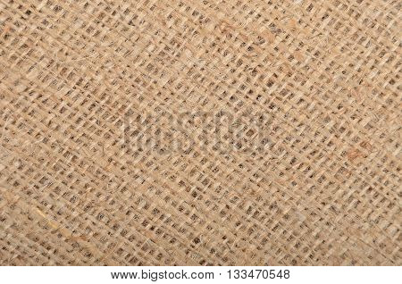 Close up of natural bagging texture background