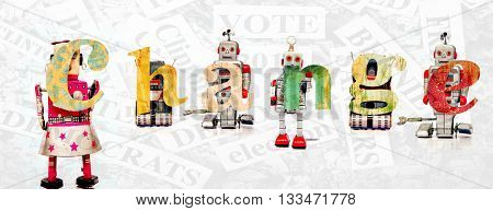 Robots say Change