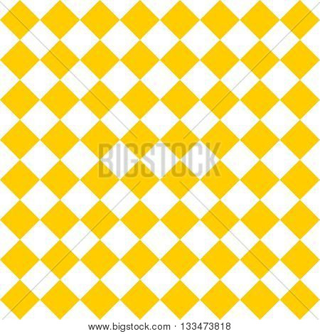 Tile yellow and white vector pattern or website background