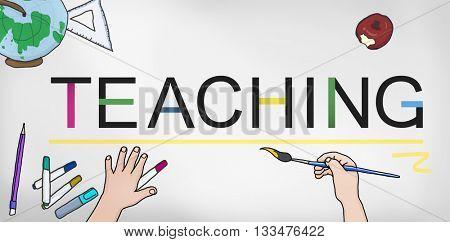 Teaching Teach Teacher Training Development Concept
