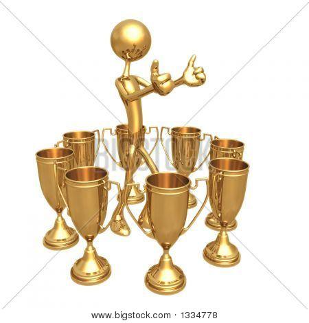 Meerdere Award winnaar duimschroef opwaarts