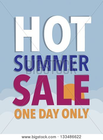 Hot summer sale - one day only