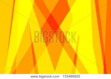 Yellow and orange colors used to create abstract background