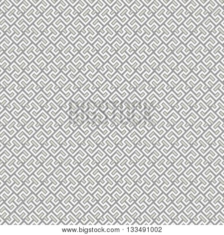 Seamless geometric pattern by lines. Modern background with repeating lines. Light silver and white wallpaper