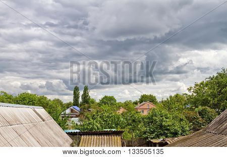The Approaching Storm Front