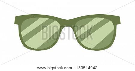 Fashion glasses vector illustration.