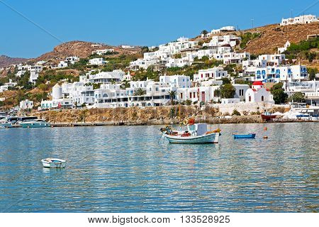 Old History  In Cyclades Island