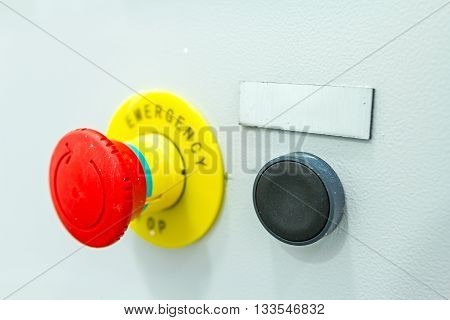 Emergency stop buttons must be obvious to see and simple to operate
