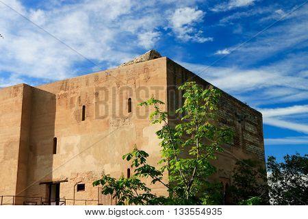 The tower Alcazaba , Alhambra in grenada, Spain