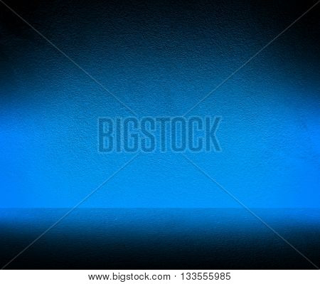 blue concrete wall background