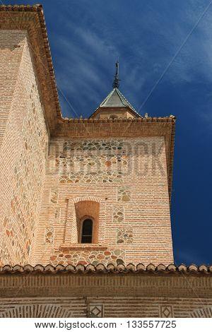 Monument of Alhambra , Grenada , Spain
