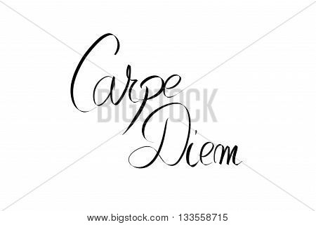 Carpe Diem Motivational Message