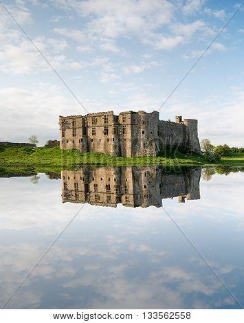 Castle Carew In Wales