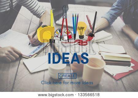 Ideas Craft Creation Design Art Concept