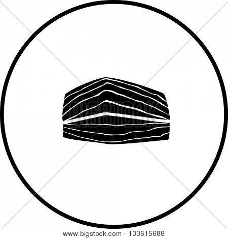 salmon fish meat symbol