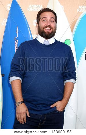 LOS ANGELES - JUN 8:  Brian Sacca at the Animal Kingdom Premiere Screening at the The Rose Room on June 8, 2016 in Venice Beach, CA