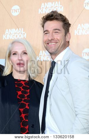 LOS ANGELES - JUN 8:  Ellen Barkin, Scott Speedman at the Animal Kingdom Premiere Screening at the The Rose Room on June 8, 2016 in Venice Beach, CA