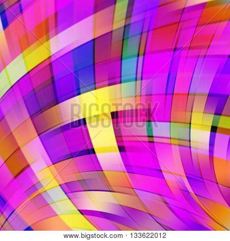 Abstract Technology Background Vector Wallpaper. Stock Vectors Illustration. Pink, Yellow, Purple Co