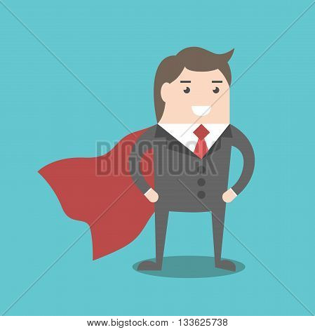 Super Businessman Hero