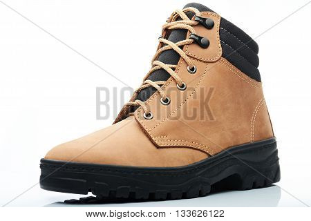 Light Brown Combat Boot
