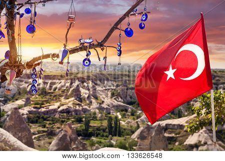 Turkish Amulet On The Tree