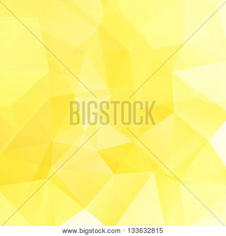 Abstract Geometric Style Yellow Background. Yellow Business Background Vector Illustration