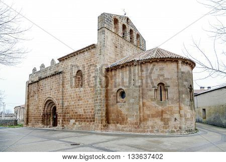 Church of Our Lady of the Angels. It was declared of cultural interest in the Monument category. Fuensauco Castilian town and district of the province of Soria Castile and Leon Spain