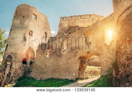 Main Gate in Lietava Castle Slovakia ю