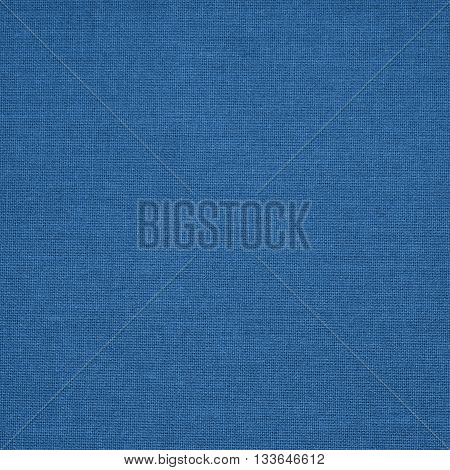 Background, pattern made of blue woven fabric.