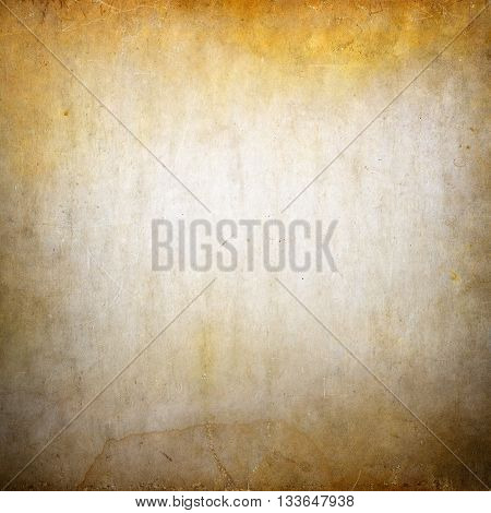 Grunge stained and dirty background with small vignette