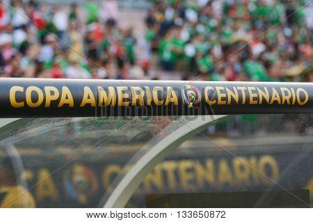Logo During Copa America Centenario
