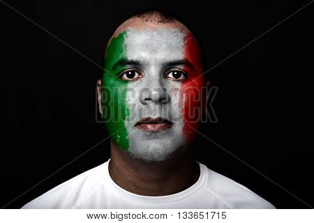 Man With Italy Flag