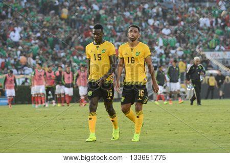 Watson And Williamson Watson And Williamson  During Copa America Centenario