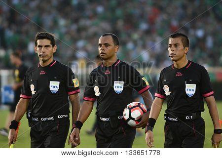 Referees During Copa America Centenario