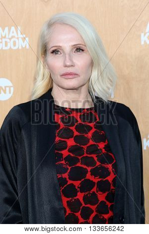 LOS ANGELES - JUN 8:  Ellen Barkin at the Animal Kingdom Premiere Screening at the The Rose Room on June 8, 2016 in Venice Beach, CA