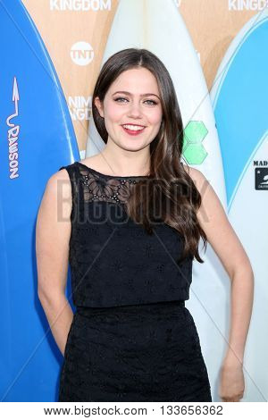 LOS ANGELES - JUN 8:  Molly Gordon at the Animal Kingdom Premiere Screening at the The Rose Room on June 8, 2016 in Venice Beach, CA