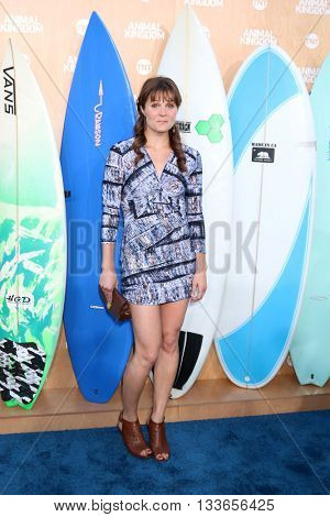 LOS ANGELES - JUN 8:  Ellen Wroe at the Animal Kingdom Premiere Screening at the The Rose Room on June 8, 2016 in Venice Beach, CA