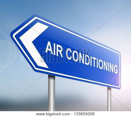 Air Conditioning Concept.