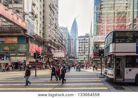 Public Transport On The Street