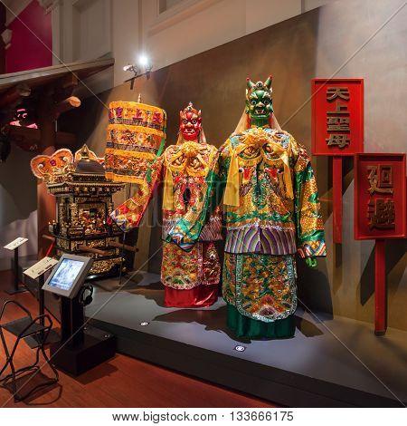 Asian Civilisations Museum Interior