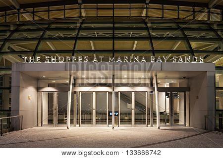 The Shoppes, Singapore