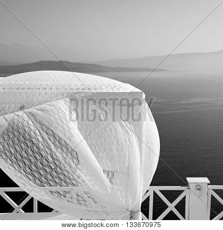 Sea  In Architecture    Europe Cyclades Santorini Old Town White And The Sky
