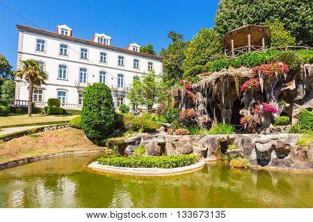 Garden At Bom Jesus