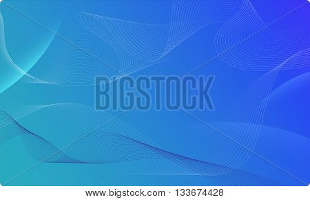 Vector abstract waves and lines background. Abstract shiny lines. Waved design element. Curvy waves vectors. Abstract template background. Blend effect vectors.