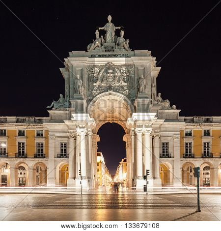 Commerce Square is located in the city of Lisbon Portugal