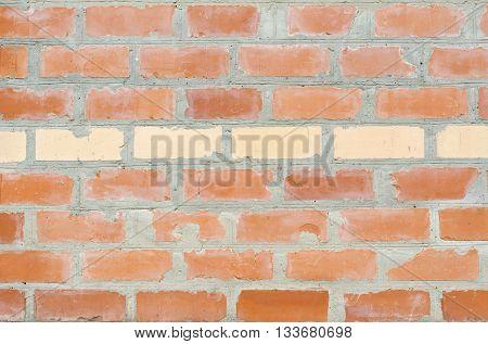 Brick wall masonry house manual red brick