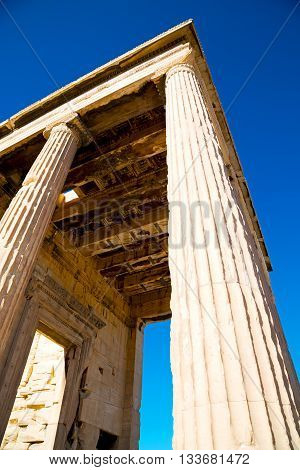 Athens In Greece The Old   Historical Place